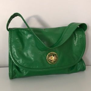 Marc By Marc Jacobs Green Patent Leather Bag